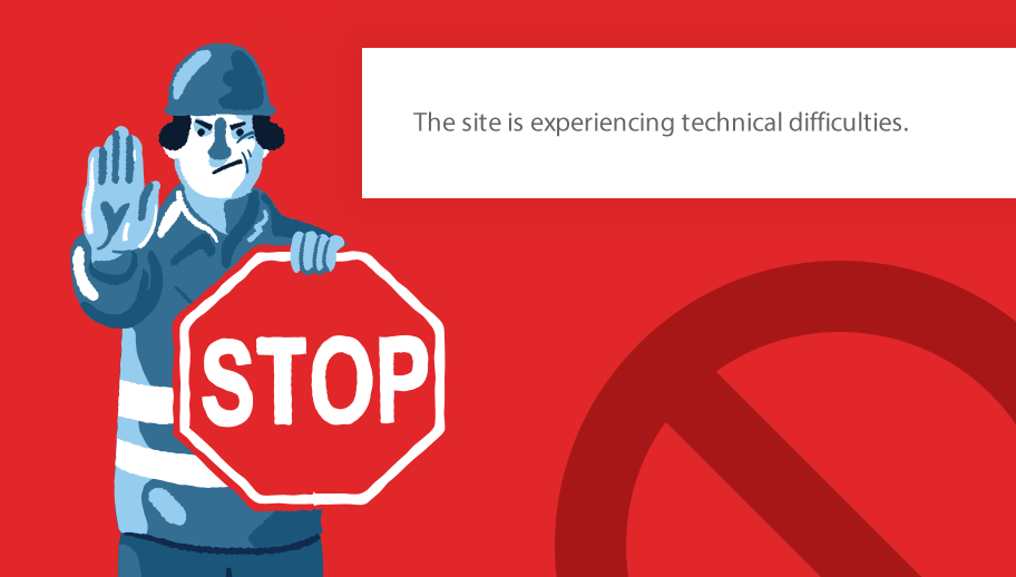 """5min Fix: """"The site is experiencing technical difficulties"""""""